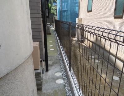ブロック・フェンス②施工後