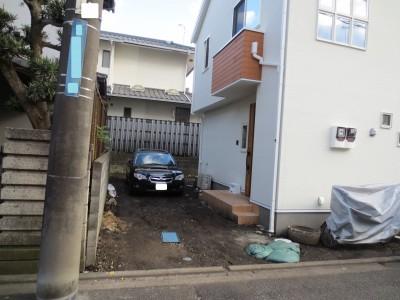 塗り壁・土間コン施工前